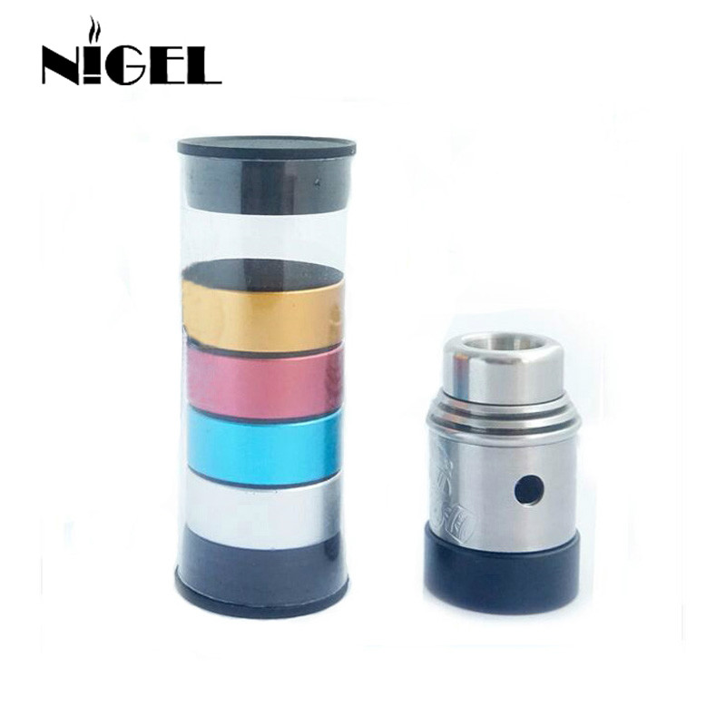 Nigel New Type 510 Atomizer Holders With Screw Thread Metal Tank Base For 510 VIVI Tank RBA RDA RTA Vape Atomizer Holder Stand