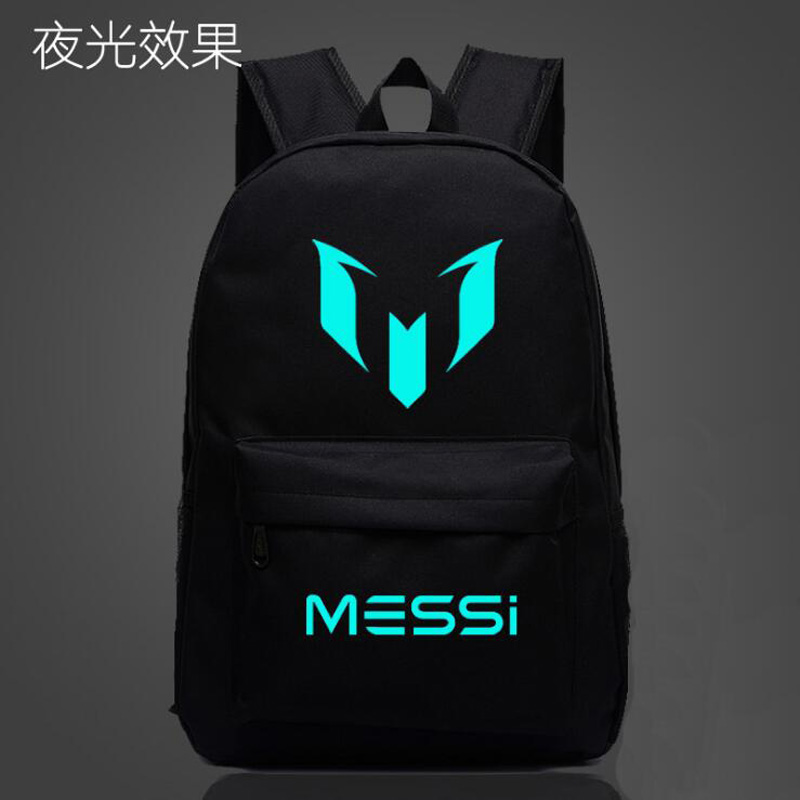 Logo Messi Backpack Bag Men Boys Barcelona Travel Bag Teenagers School Gift Kids Bagpack Mochila Bolsas Escolar voyjoy t 530 travel bag backpack men high capacity 15 inch laptop notebook mochila waterproof for school teenagers students