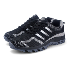 Men Shoes Leisure Travel Cross Country Breathable Shoes Male Casual Breathable Air Mesh Trekking Shoes