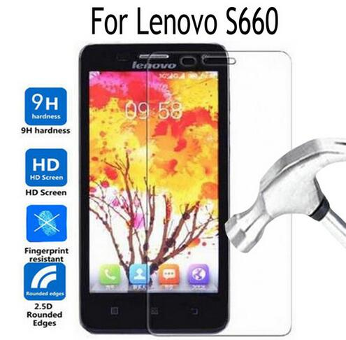 Tempered Glass For Lenovo S660 S668T Screen Protector Cover Film For Lenovo S 660 2.5D 9H Toughened Protective Film Cover Verre