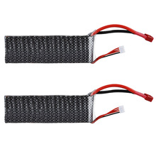 2 X 3S 30C 11.1V 4500mAh Deans Battery for RC Helicopter Airplane Trcuk Boat