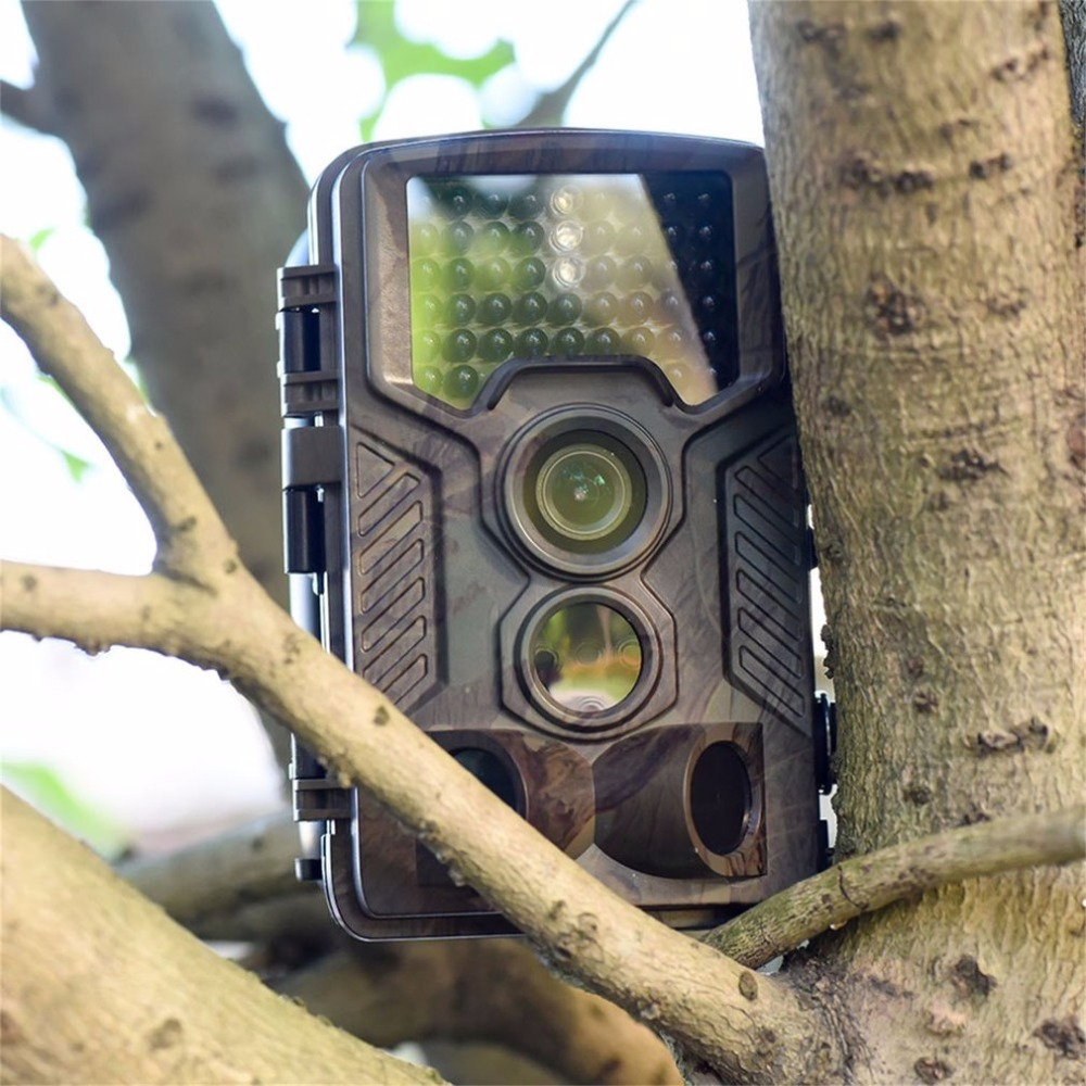 Wildlife Trail Camera Hunting Wild surveillance 8MP 1080P IP56 Waterproof hunter cam Nig ...