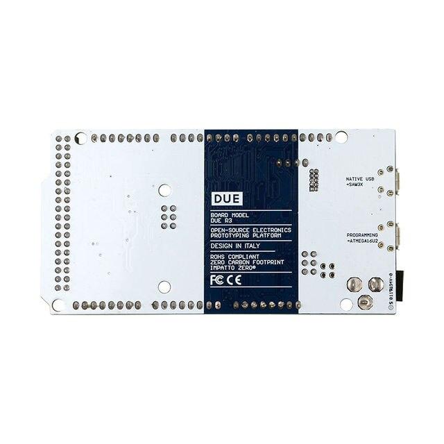 2012 Официальная Версия Из-За R3 MCU Доска с AT91SAM3X8E ARM 32 бит 215КБ ОПЕРАТИВНОЙ ПАМЯТИ для Arduino с Анти-Статические Мешок с USB кабель