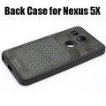 Original de vuelta oficial case cubierta de piel de silicona para lg google nexus 5x case con caja al por menor envío gratis