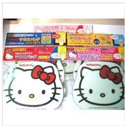 5pcs Cute Hello kitty Mouse pad Mouse Mat 1CM5,Super cute mouse mat,freeshipping