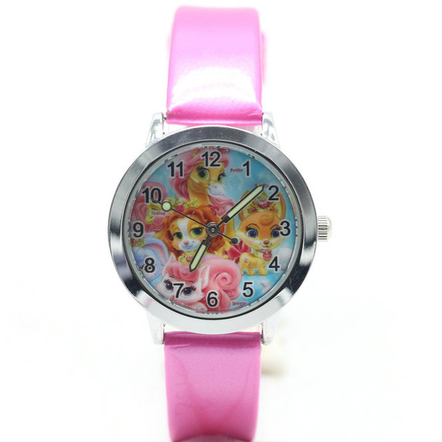 2018 Palace pets watch Quartz Kids Sports fashion cartoon Watch Wristwatch Boy S