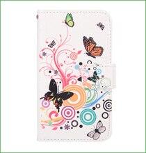 Для Nokia Lumia 925 Case мода Эйфелева Башня, Красочные Бабочки, cat поцелуй рыба флип кожаный Бумажник case Для Nokia Lumia 925