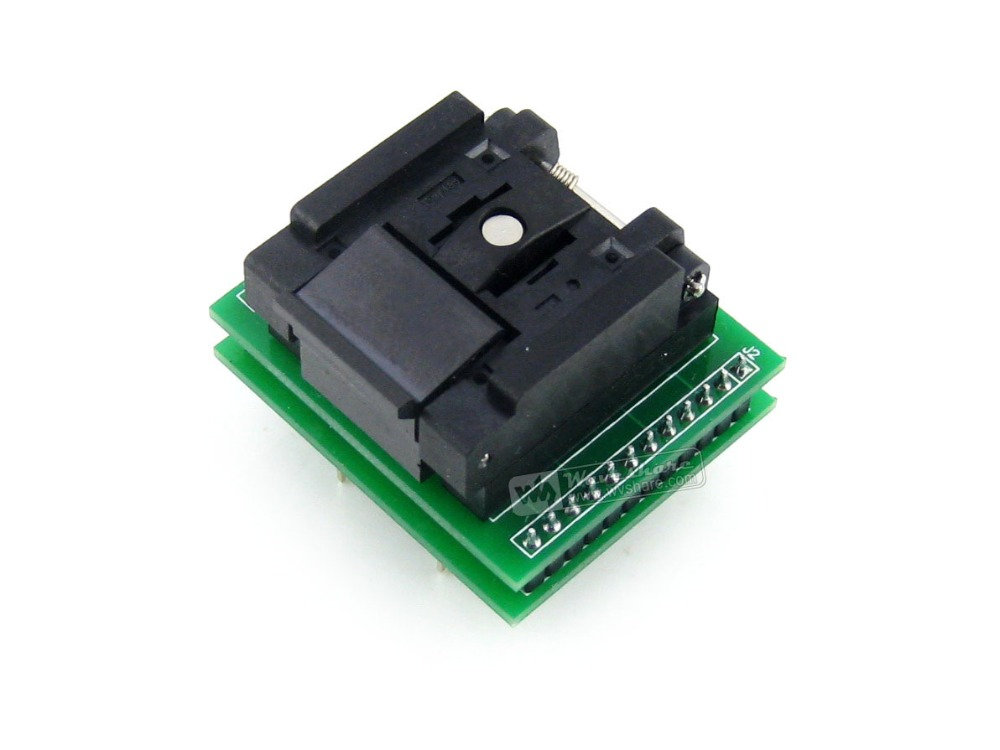 QFN24 TO DIP24 (A) # Enplas QFN-24BT-0.5-01 IC Test Socket Adapter 0.5mm Pitch MLF24 MLP24 + Free Shipping fshh qfn24 to dip24 programmer adapter wson24 udfn24 mlf24 ic test socket size 8mmx6mm pin pitch 0 8mm