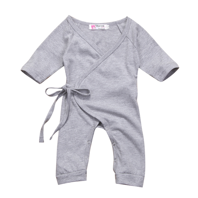 3a6a70843 Newborn Kids Baby Boy Girls Infant Back Wing Romper Jumpsuit Clothes ...