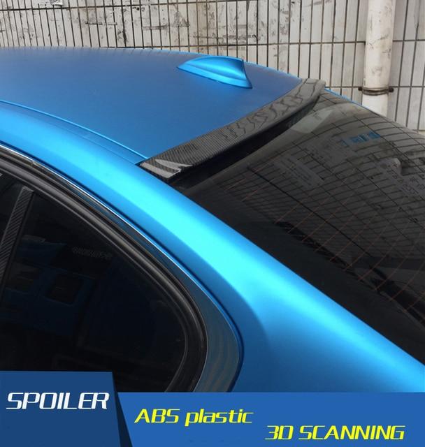 US $55 1 42% OFF Aliexpress com : Buy For BMW F30 F35 Roof Spoiler High  Quality Carbon Fiber Material Spoiler For BMW M3 320i 320li 325li 328i F30  F35