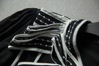 10268 anglebaby хепберн с бантом тонкий черный с длинными рукавами рубашка
