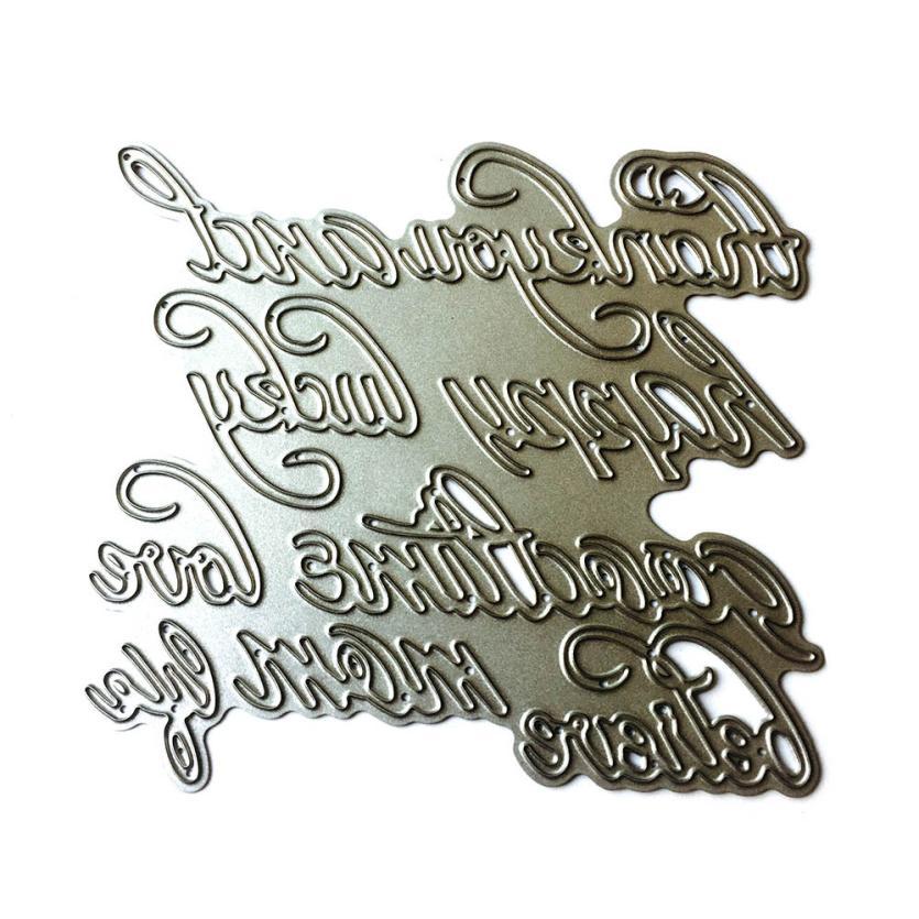 House LC New Flower Heart Metal Cutting Dies Stencils DIY Scrapbooking Album Paper Card Craft 18Apr26 Drop Ship