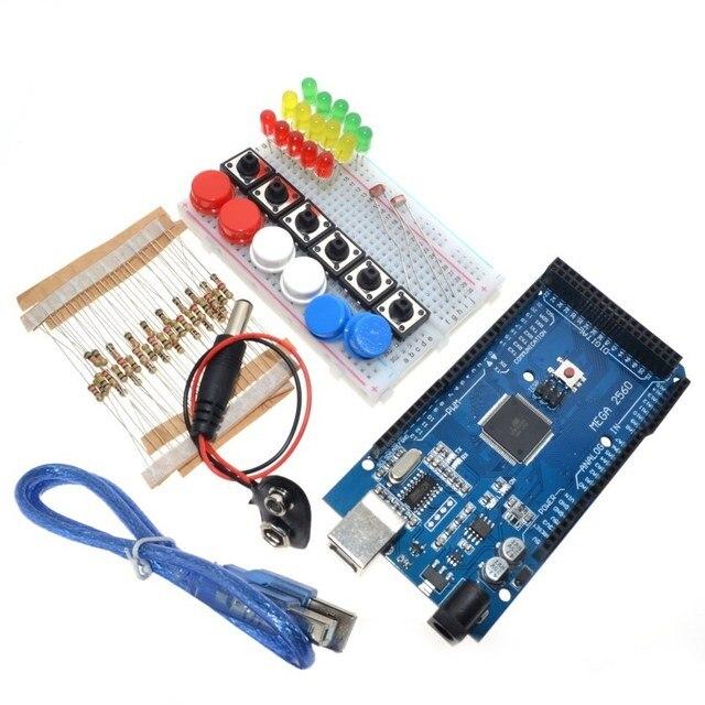US $7 77 30% di SCONTO Articoli Elettronica Smart, smartwatch, bracciali  smart fitness Integrato Starter Kit Mega 2560 mini Tagliere LED pulsante