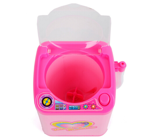 Educational Toy Mini Electric Washing Machine Children Pretend & Play Baby Kids Home Appliances Toy 2