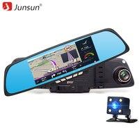 Junsun 6 86 Car DVR Rearview Mirror Camera Android RAM1GB ROM 16GB GPS Navigation WiFi 1080P