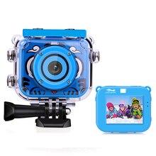 HD 1080P Дети Спорт Экшн-камера для активного отдыха катание на лыжах, плавание езда Go Водонепроницаемый Pro мини камера DV видео запись