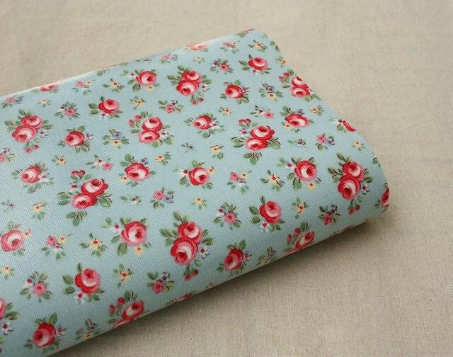 Livraison gratuite toile cir e base bleue tissu tanche - Toile ciree pour table de jardin ...