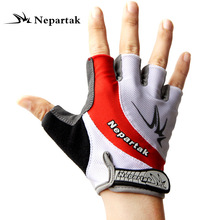 New bicycle mountain bike riding equipment men and women gloves half finger palm rest