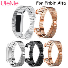 Unique shape For Fitbit Alta smart watch frontier/classic replacement strap HR wristband accessories