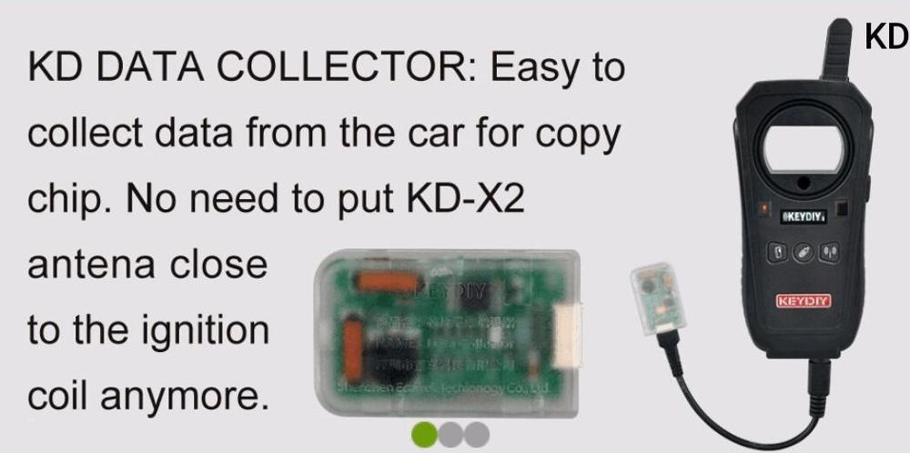 Image 3 - KD DATA Collector Easy to collect data from the car for keydiy KD X2 copy chip-in Air Bag Scan Tools & Simulators from Automobiles & Motorcycles