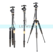 Q777 Professional SLR Camera Tripod Photography Package Tour Portable Digital Tripod + Ball HeadWholesale Free Shipping