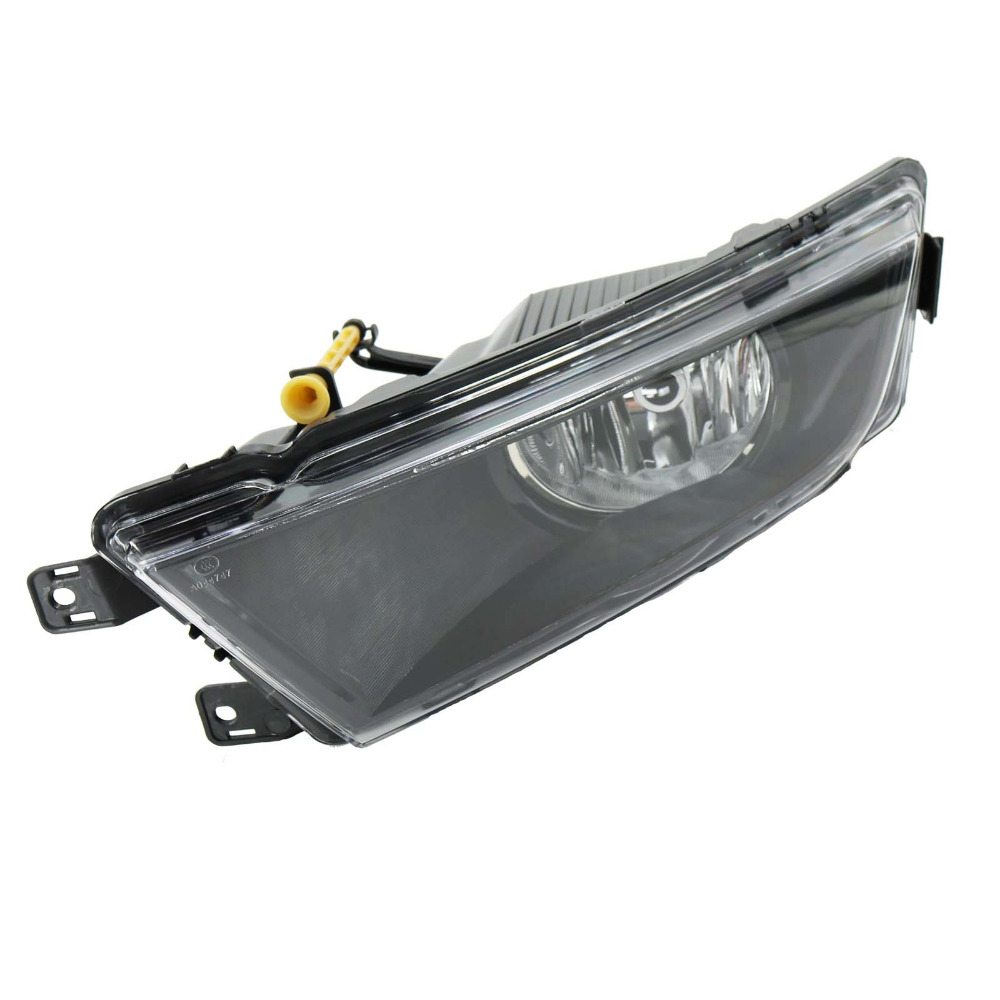 Car Styling For Skoda Octavia A7 2013 2014 2015 2016 Left Side Front Halogen Fog Light Fog Lamp With Bulb right side for vw polo vento derby 2014 2015 2016 2017 front halogen fog light fog lamp assembly two holes