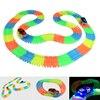 Enlighten Magic Tracks Bend Flex Glow In The Dark Assembly Toy 162 165 220 240pcs Race