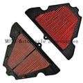 1 pcs filtro de ar da motocicleta filtro de ar de alta qualidade para kawasaki z1000 2010 2011 motocicletas peças filtro de ar & sistemas