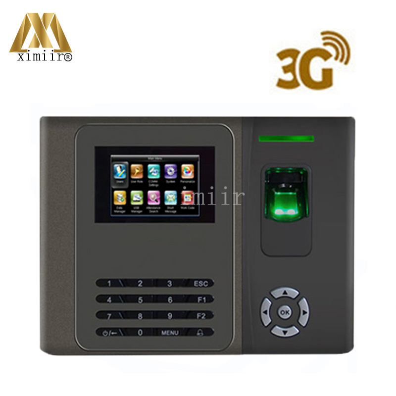 Fingerprint Time Attendance XM200 With 3G, WIFI Communication And ADMS Smart Time Attendance Machine Time Clock