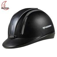 MOON Equestrian Helmet Horse Riding Helmet Breathable Durable Safety Half Cover Horse Rider Helmets