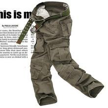 2016 IN Die Neue Taktische Hosen Military Männer Camouflage Cargo Pants Männlich Overalls Freizeithose 28 ~ 38