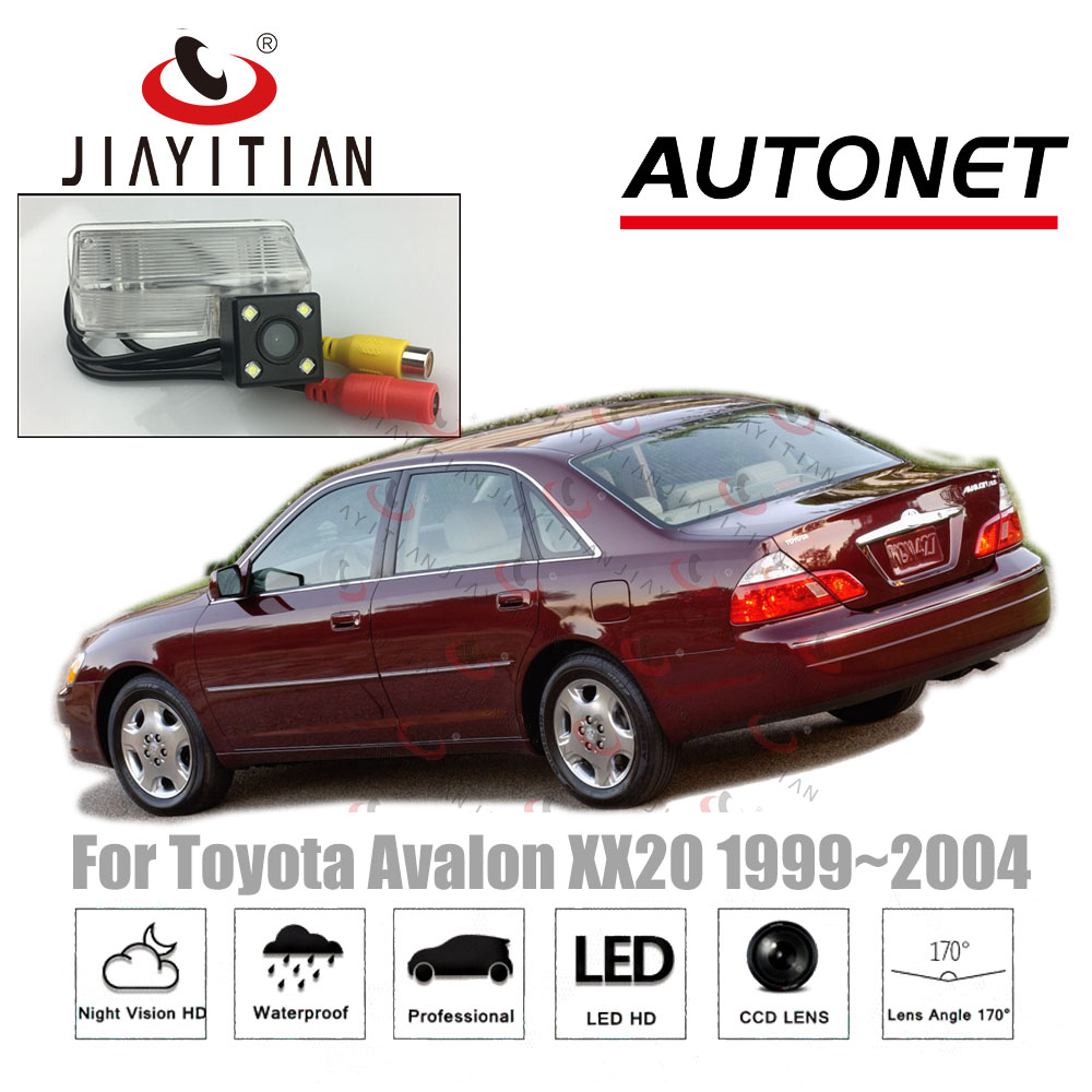 JiaYiTian Rear View Camera For Toyota Avalon XX20 1999~2004 CCD/Night Vision Backup Camera Reverse Camera License Plate Camera