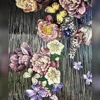 flowerpower mosaic mural ,luxury mosaic
