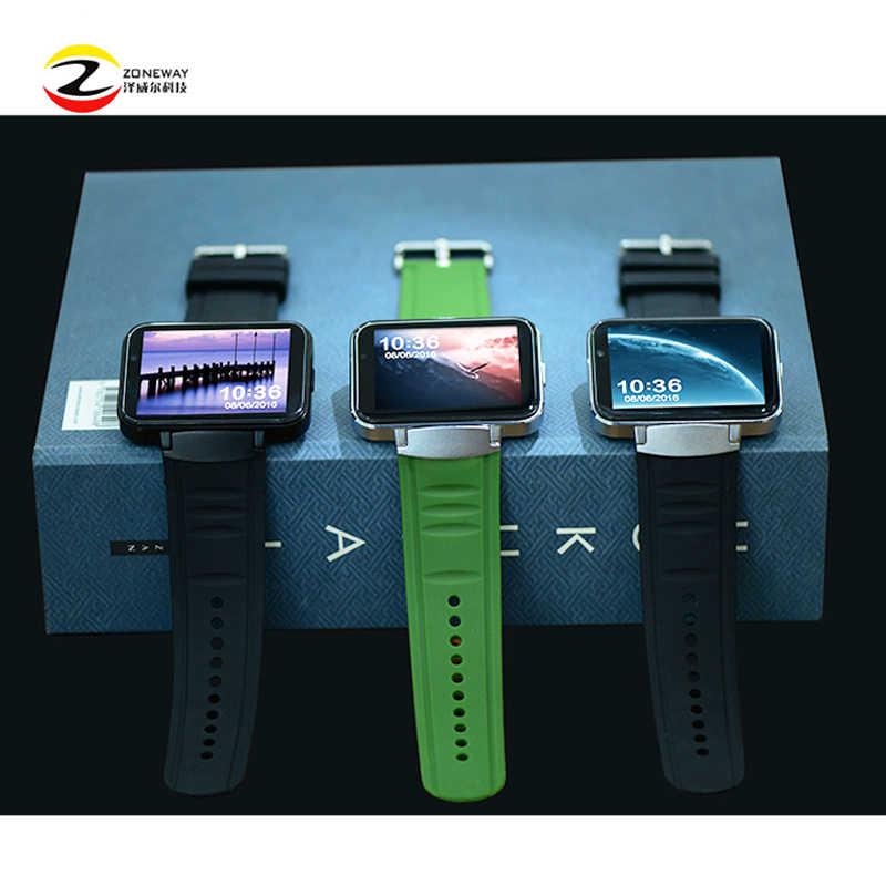 DM98 Smart watch MTK6572 Dual core 2 2 inch HD IPS LCD Screen 900mAh  Battery 512MB Ram 4GB Rom Android 4 4 OS 3G WCDMA GPS WIFI