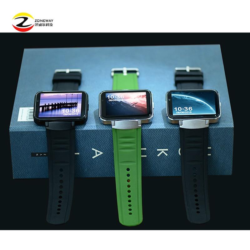 DM98 reloj inteligente MTK6572 Dual core 2,2 pulgadas HD IPS pantalla LCD de 900 mAh batería de la batería 512 MB Ram 4 GB rom Android 4,4 OS 3G WCDMA GPS WIFI - 2