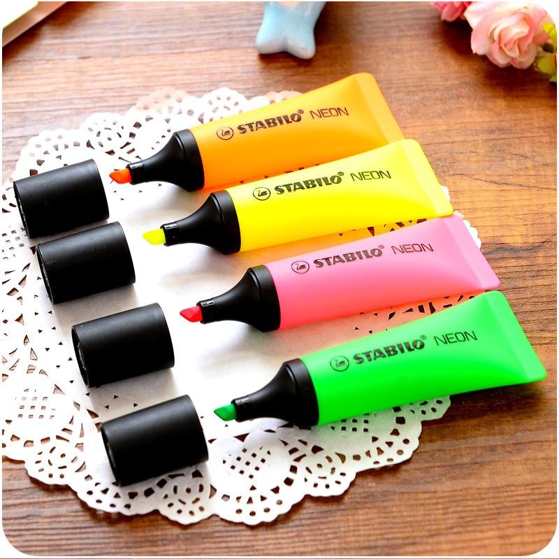 4 ชิ้น / ล็อต Stabilo - ปากกาดินสอและการเขียนวัสดุสิ้นเปลือง