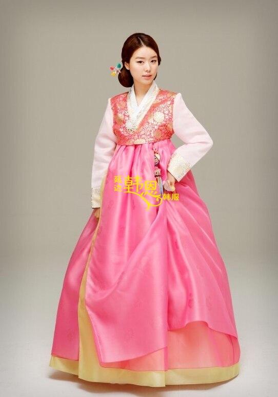 Moderno Vestido De Novia Coreano Tradicional Colección de Imágenes ...