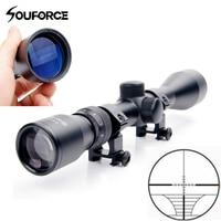 3 9x40 Mil Dot Air Riflescope Gun Optics Sniper Scope With 20 mm Rail Mount Scope Gun Accessory for Hunting