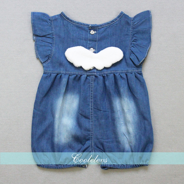6d33a26098f8 Baby Denim Romper Fashion Summer Baby Boys Girls Jeans Overalls Newborn  Baby Clothing Kids Playsuit Infant Jumpsuit
