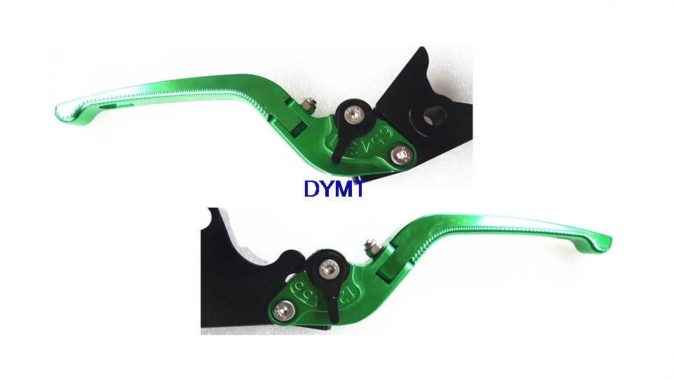 ФОТО T6 aluminum Motorcycle Foldable 3D Lever Set for SUZUKI GS500 1989 - 2008 great Brake & Clutch Levers 8colors