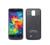 3800 mah teléfono banco de alimentación externa batería de copia de seguridad de caso de la contraportada para samsung galaxy s5 i9600 teléfono celular del cargador de batería