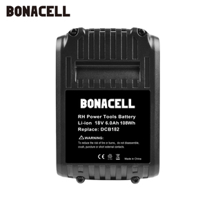 Image 5 - Bonacell For DeWalt 18V 6000mAh Battery Power Tools Batteries Replacement MAX XR DCB181 DCB182 DCD780 DCD785 DCD795 L70