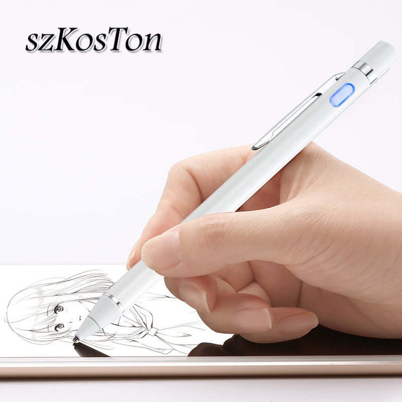 Universal Capacitive Pen Touch Screen Pencil For iPhone X 8 <font><b>7</b></font> 6s Plus Touch Screen Pen Tablet Pen For iPad Pro 9.<font><b>7</b></font> mini 1 2 3 <font><b>4</b></font> image