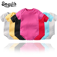 Summer Baby clothes Short Sleeved baby romper