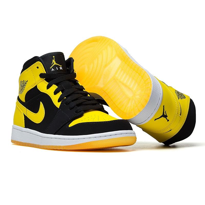 Nike 44 554724 Shoes Us167 Jordan Basketball Mid Air Yellow Men's shrdQCt