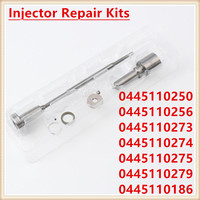 Diesel Injection Nozzle Kits Injector Repair Kits 0445110250 0445110256 0445110273 0445110274 0445110275 0445110279 0445110186