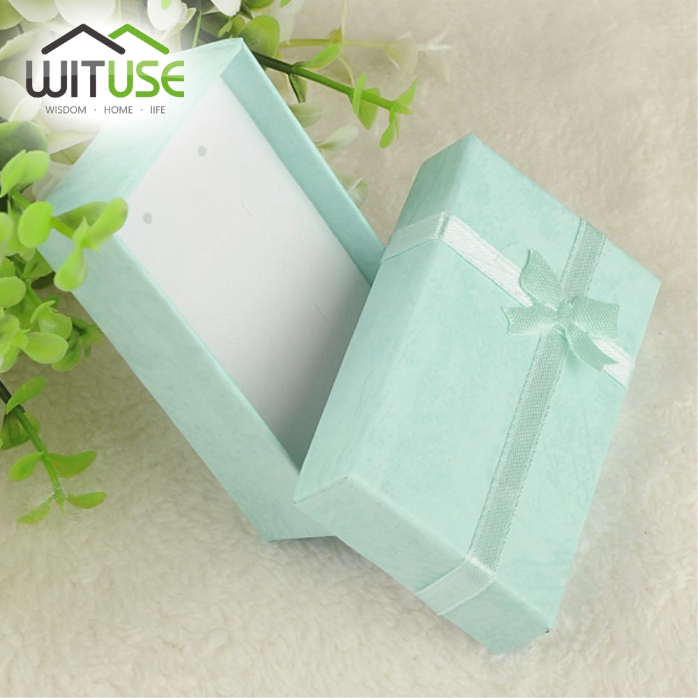 19 color 2 SIZES----Floral Necklace Earrings Ring Box 5*8cm 4x3cm Jewelry Box Paper Jewelry Gift Box Jewellery Organizer