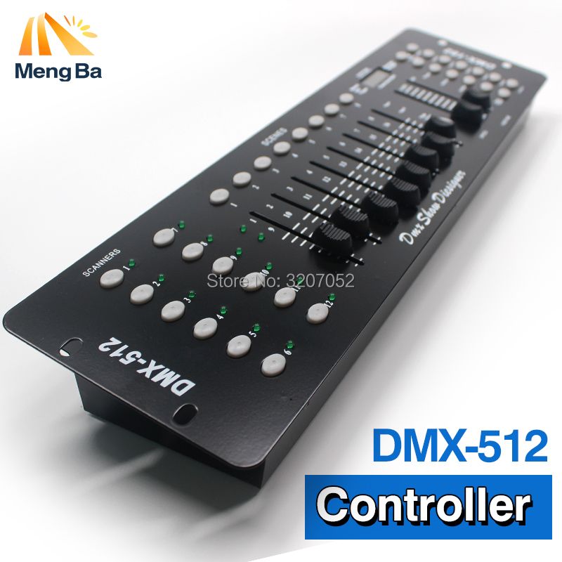 4pcs/lot 192 DMX Profession Controller Stage Lighting DJ equipment DMX 512  Console led par Moving Head light DJ Controller