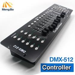 Profissão 4 pçs/lote 192 DMX Controlador de Iluminação de Palco DJ equipamentos DMX 512 Consola par levou luz Em Movimento Da Cabeça DJ Controlador