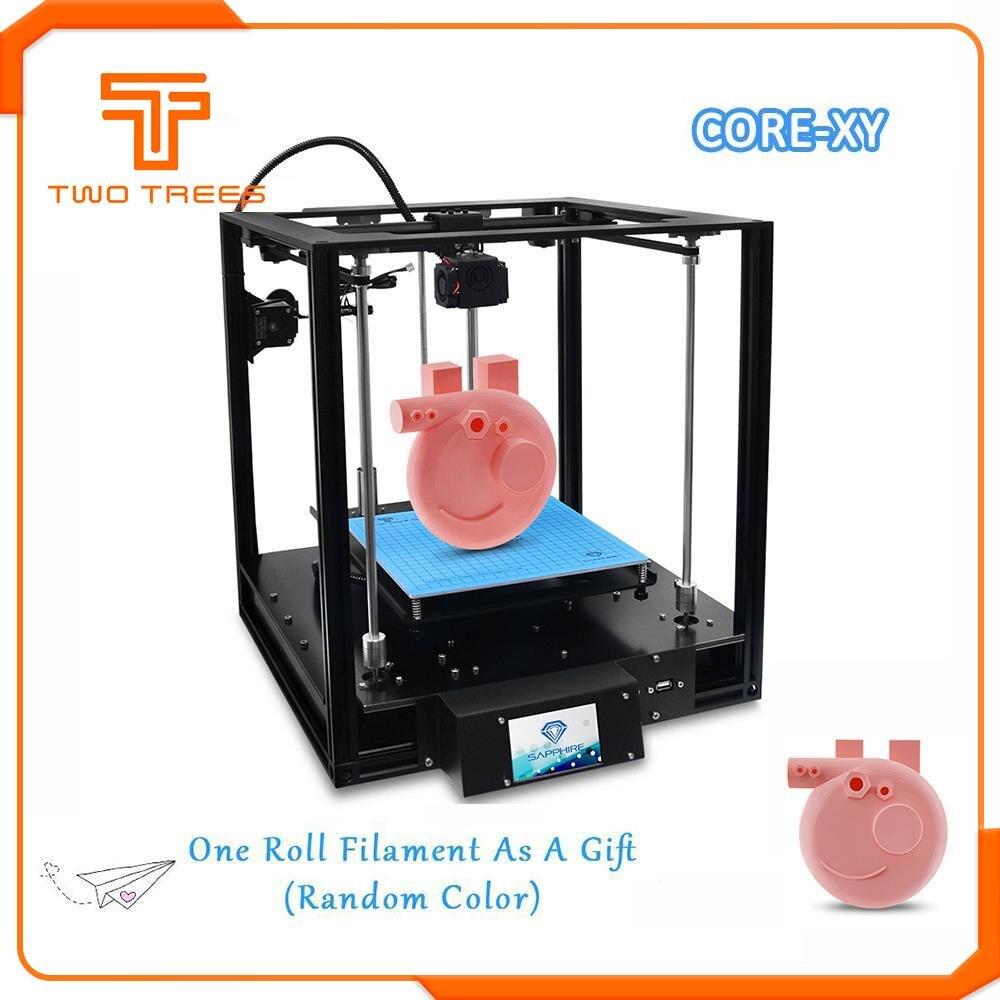 TWO TREES High precision Sapphire S 3D Printer CoreXY Automatic leveling Aluminium Profile Frame DIY print